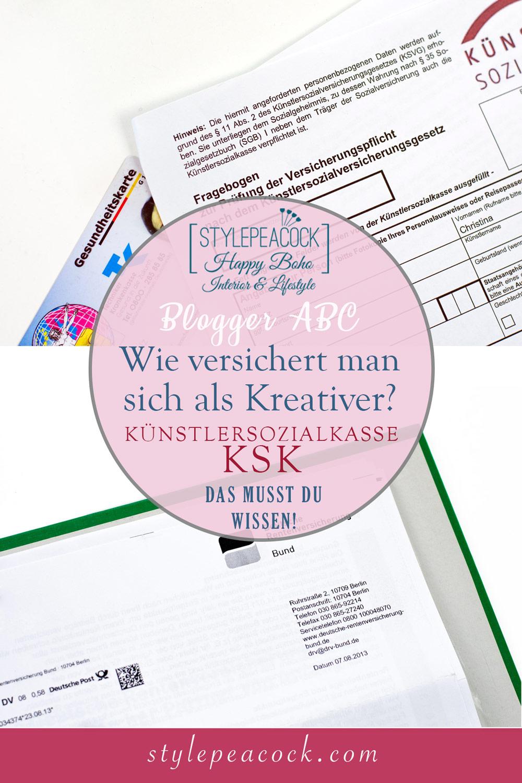 KSK | Künstlersozialkasse | wie versichert man sich als Selbständiger & Kreativer?