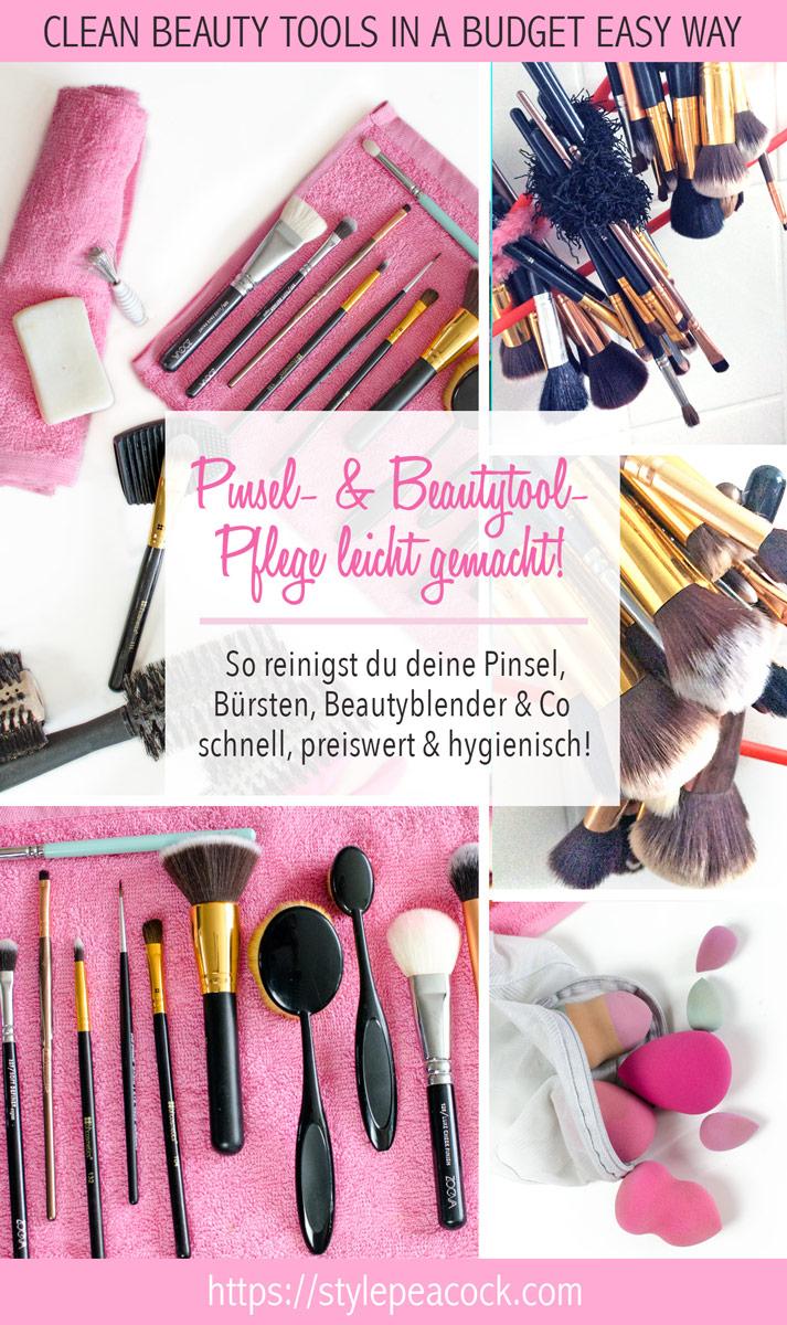 Pinsel Reinigung & Beautytool Pflege leicht gemacht