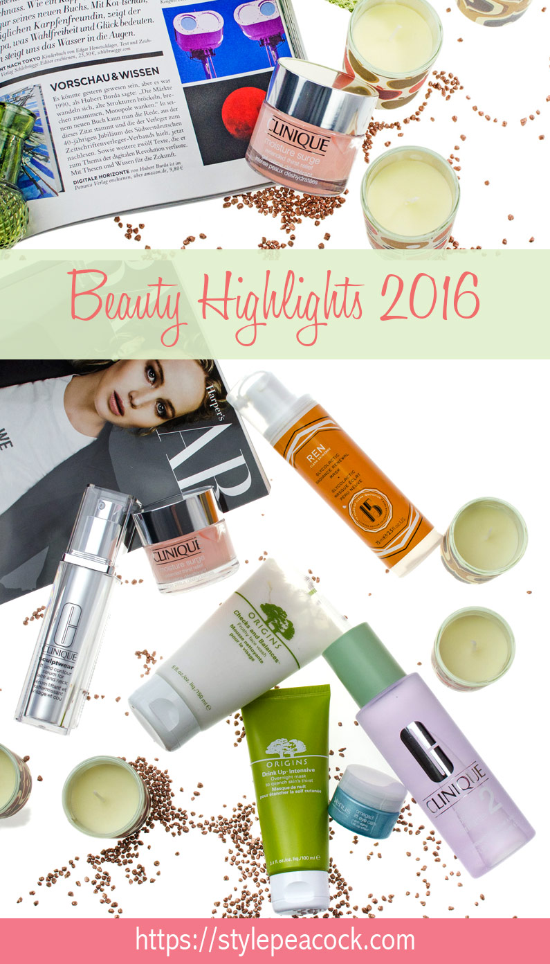 Top 10   Stylepeacock: Beauty Highlights 2016