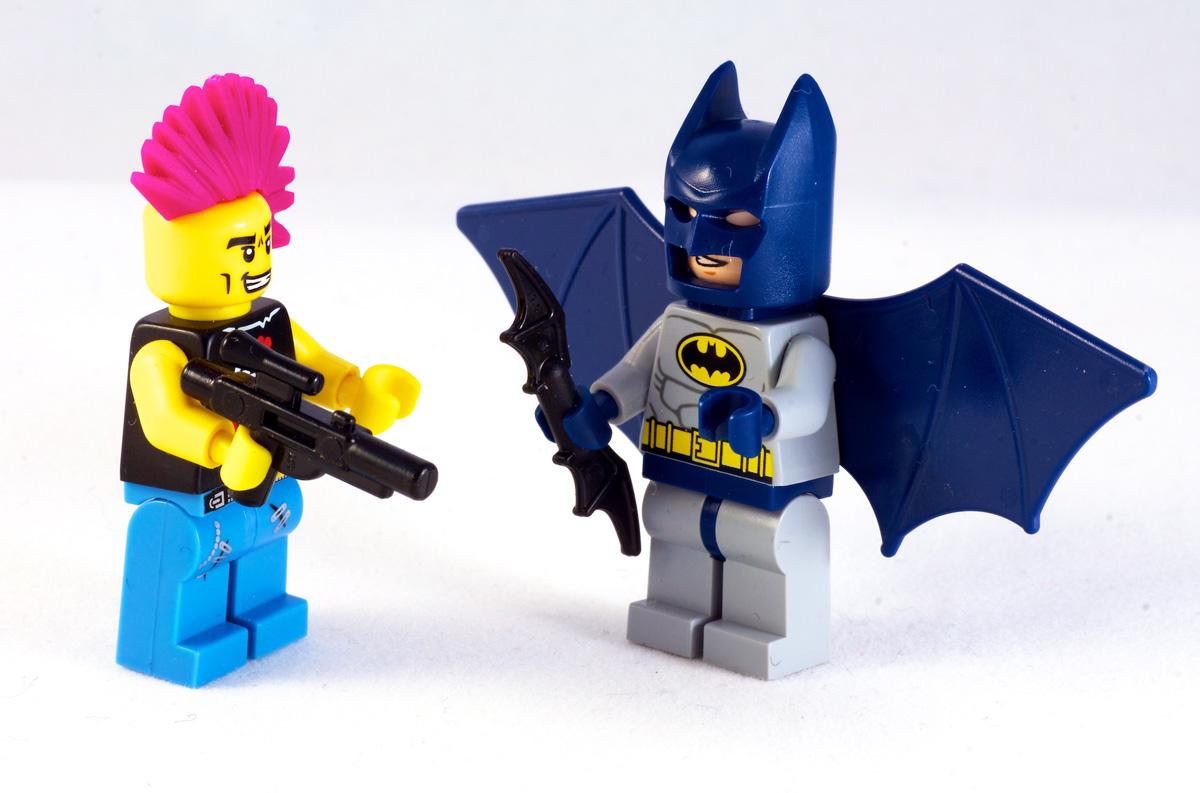 Männer als Superhelden
