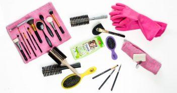 Pflege & Reinigung von Beauty-Tools wie Bürsten, Pinsel, Beautyblender und andere Schwämmchen