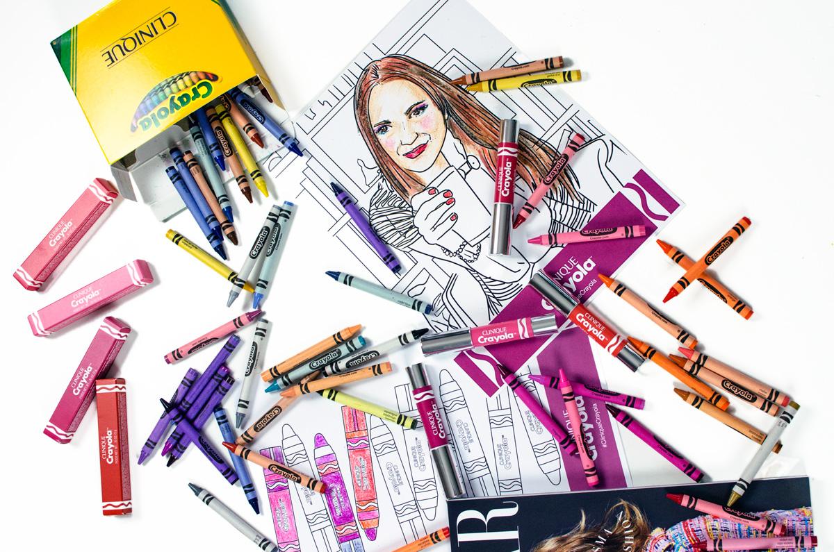 Clinique Crayola Collaboration | Chubby Sticks & Chubbies Intense