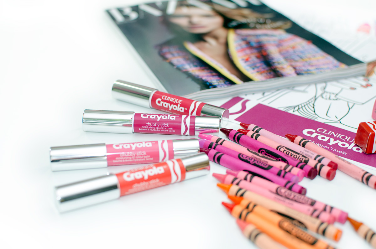Clinique Crayola Collaboration | Chubby Sticks & Chubbies Intense