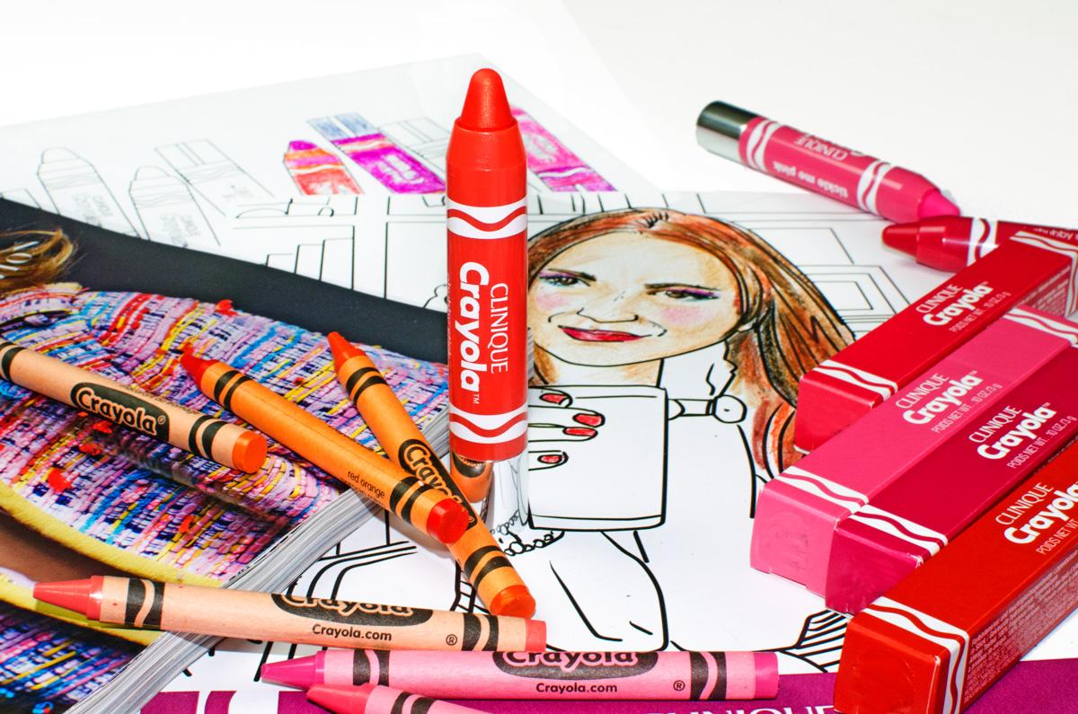 Clinique Crayola Collaboration | Chubby Sticks & Chubbies Intense | Mango Tango