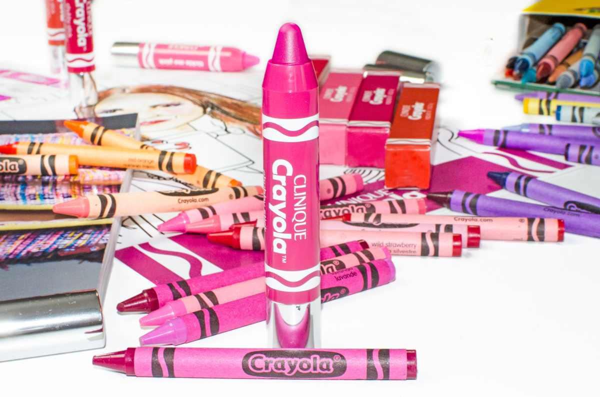 Clinique Crayola Collaboration | Chubby Sticks & Chubbies Intense | Razzmattaz
