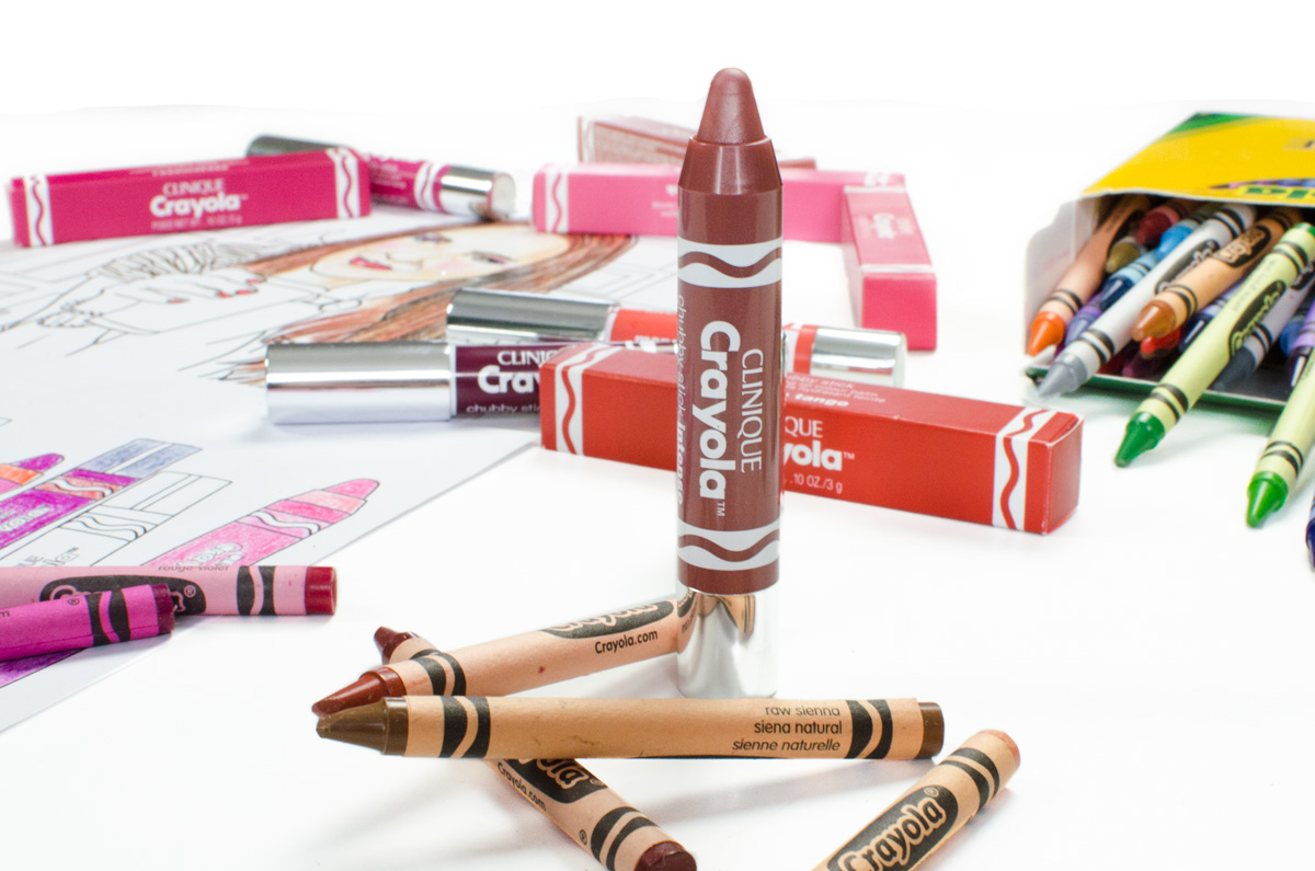 Clinique Crayola Collaboration | Chubby Sticks & Chubbies Intense | Fuzzy Wuzzy