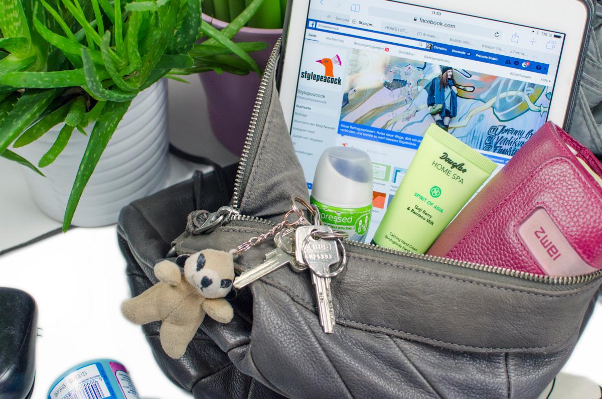 Die Must-Haves meiner Handtasche