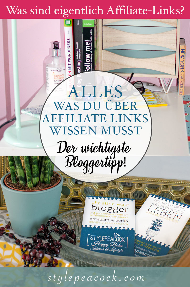 Alles was du über Affiliate Links & Marketing wissen musst! Der wichtigste Bloggertipp!