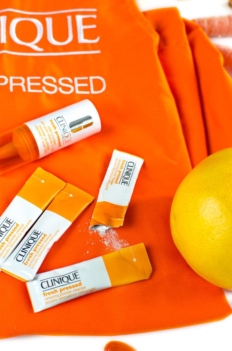 Clinique Fresh Pressed #freshpressed Vitamin C Booster & Renewing Powder Cleanser