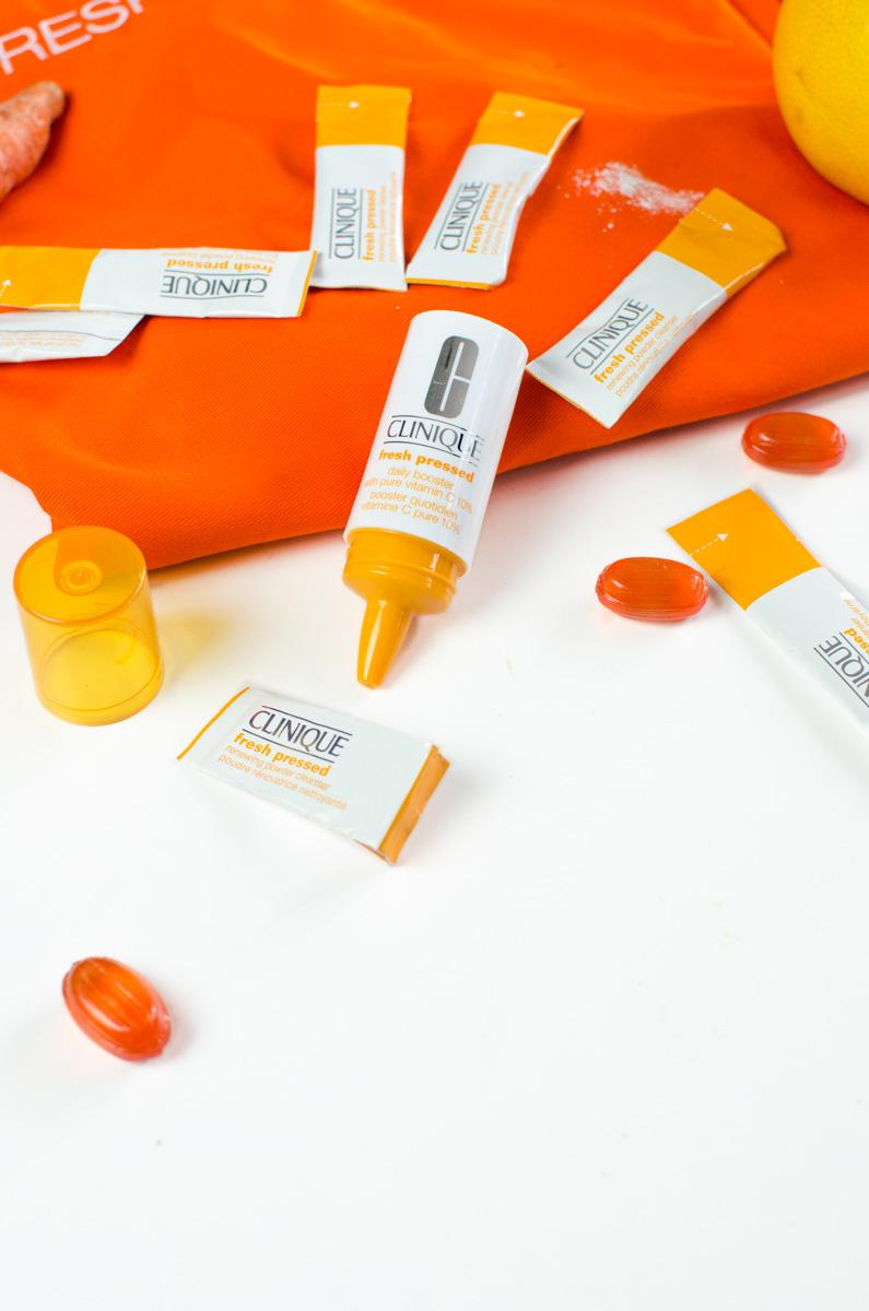 Clinique Fresh Pressed #freshpressed Vitamin C Booster & Renewing Powder Cleanser mit Vitamin C