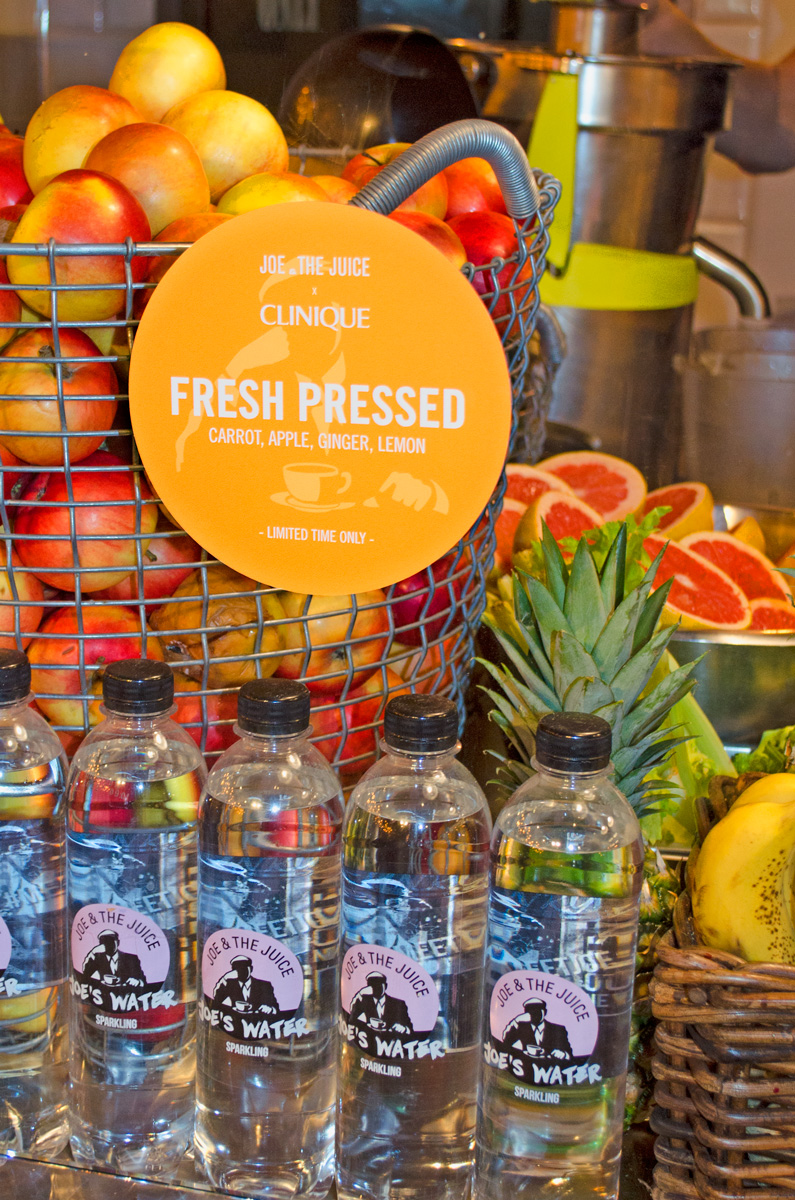 Joe & The Juice in Hamburg beim #freshpressed Event