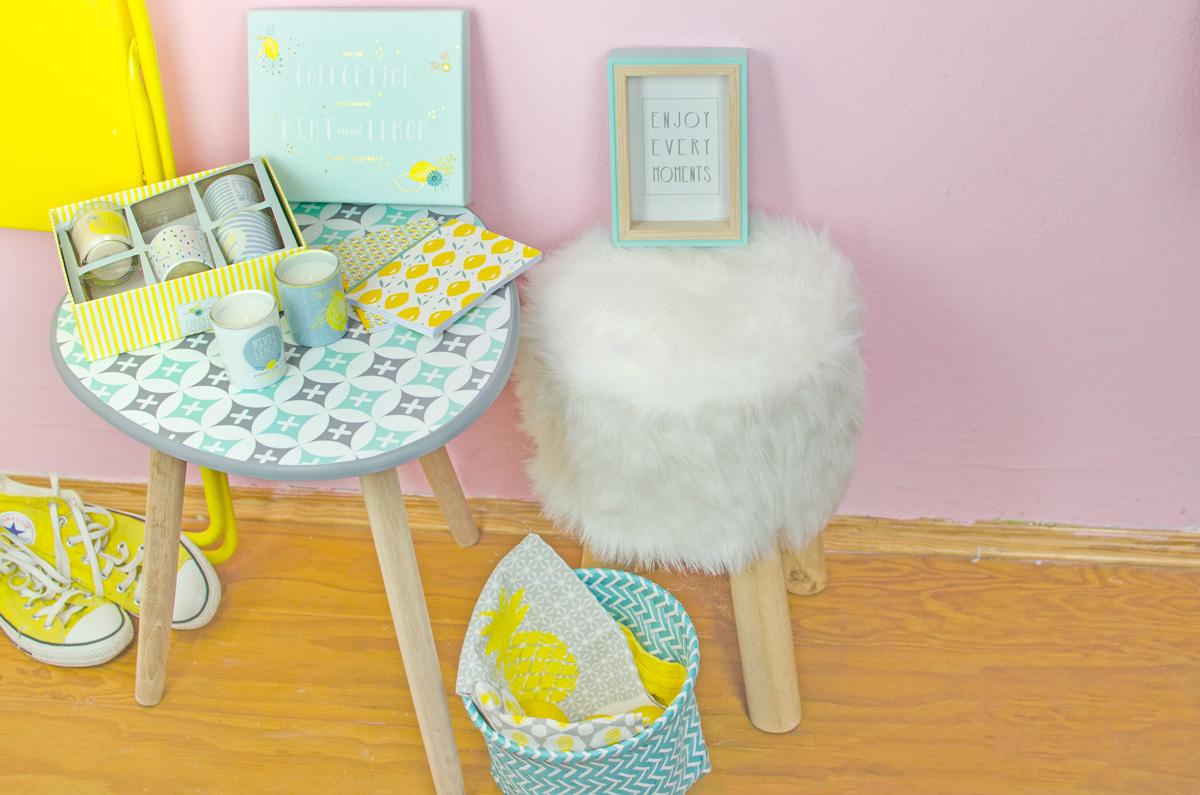 Maisons du Monde | Interior Trend Spring 2017 | Mint & Lemon | Living Room