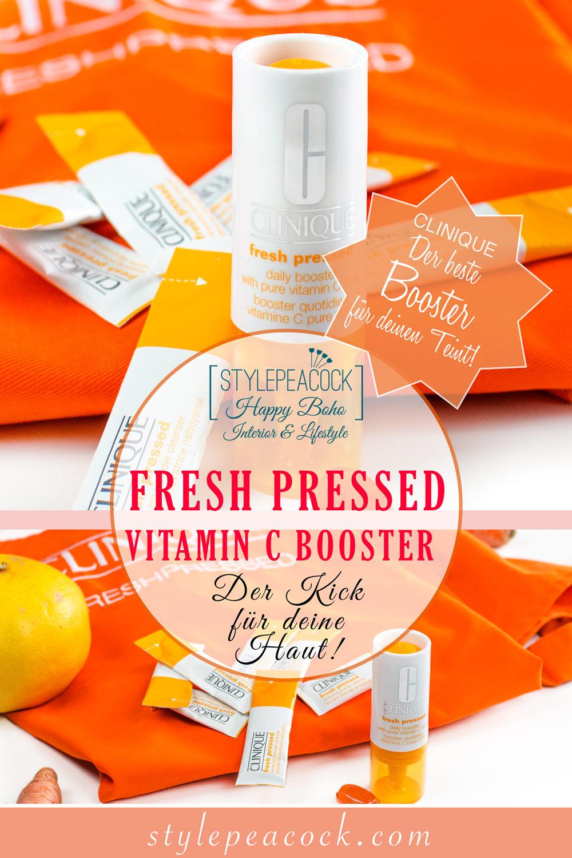 [anzeige]Clinique Fresh Pressed #freshpressed Vitamin C Booster & Renewing Powder Cleanser mit Vitamin C
