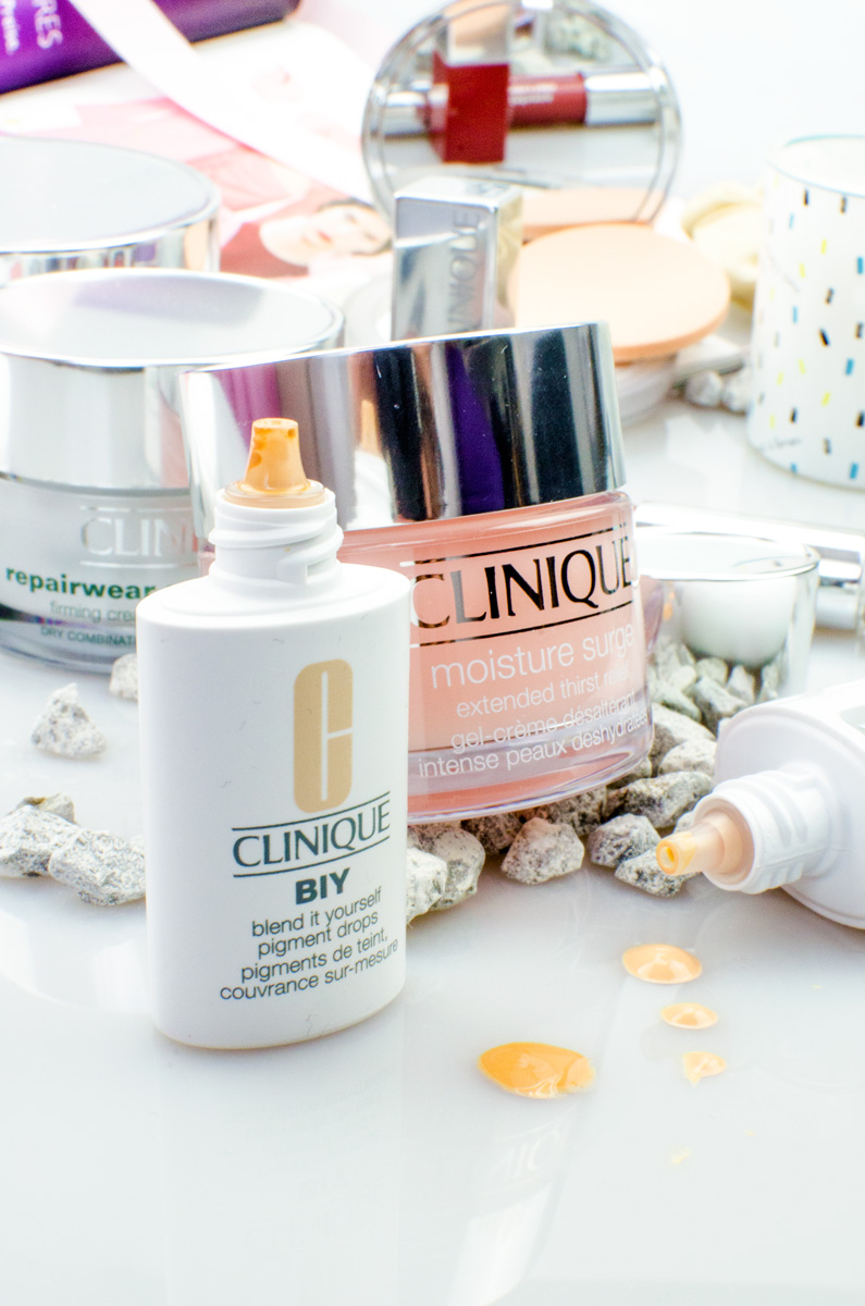 Clinique BIY Blend It Yourself Pigment Drops & Moisture Surge