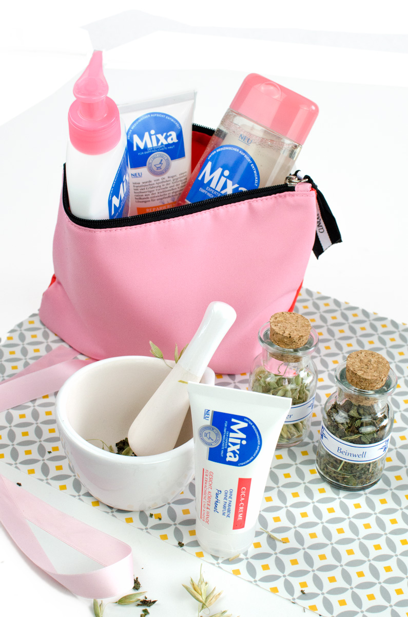 Mixa Körperpflege in Apotheken-Standard aus der Drogerie