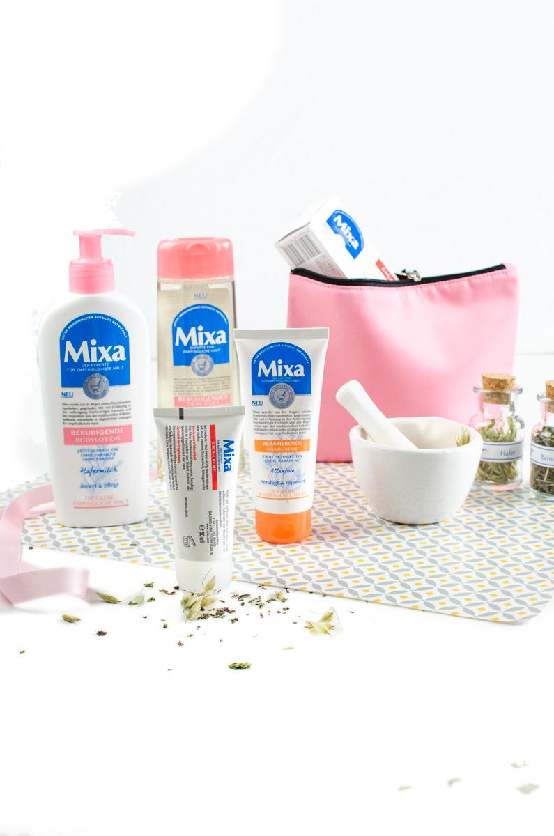 Mixa Körperpflegein Apotheken-Standard aus der Drogerie | Bodylotion mit Hafermilch