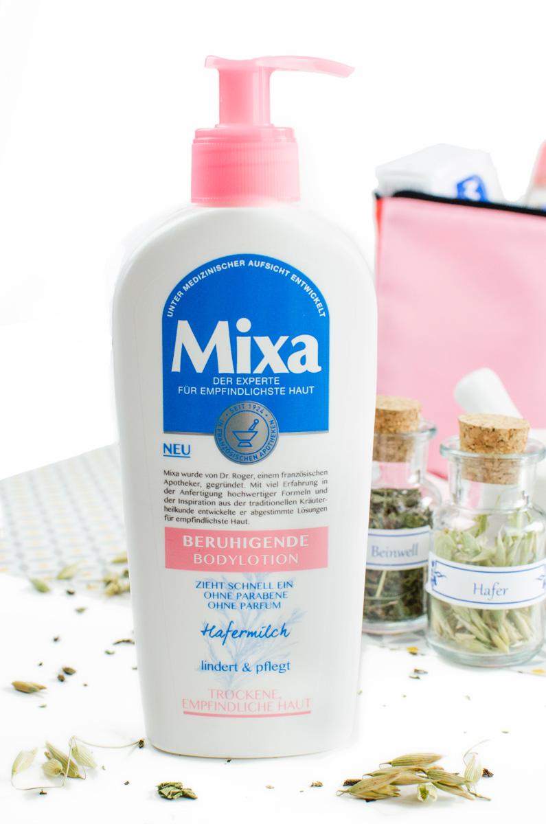 Mixa Körperpflege in Apotheken-Standard aus der Drogerie   Bodylotion mit Hafermilch