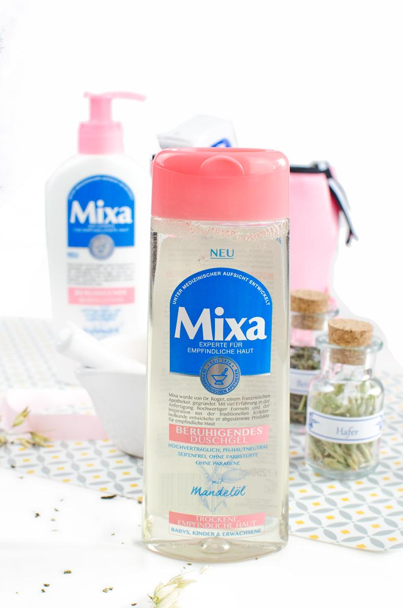 Mixa Körperpflege in Apotheken-Standard aus der Drogerie   Duschgel