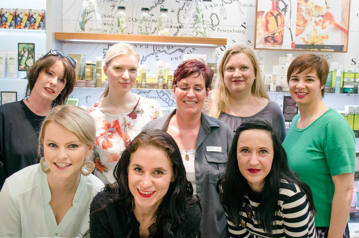 #MyPerfectWorld stylepeacock's Origins-Berlin-Event im Douglas in Berlin | Die Mädels