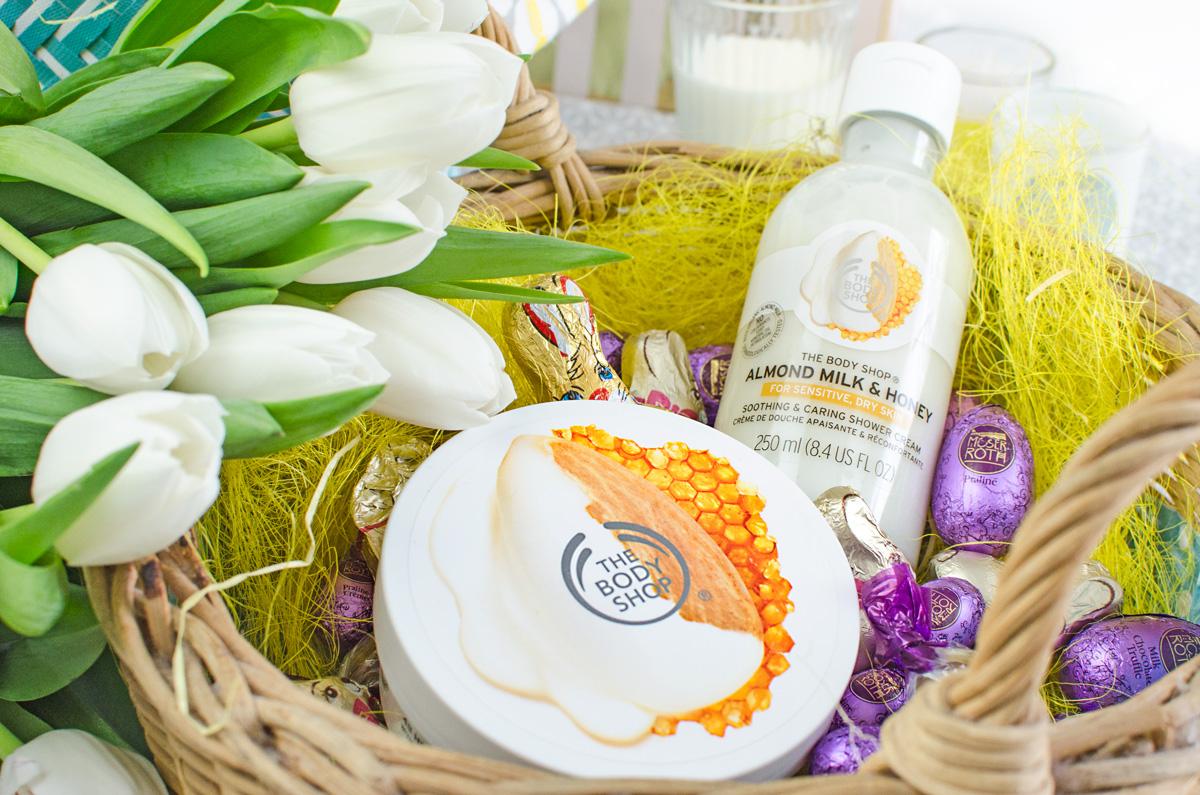 The Body Shop | Almond Milk & Honey Serie | Review mit Gewinnspiel + Versandcode