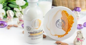 The Body Shop | Almond Milk & Honey Serie | Review mit Gewinnspiel + Versandcode