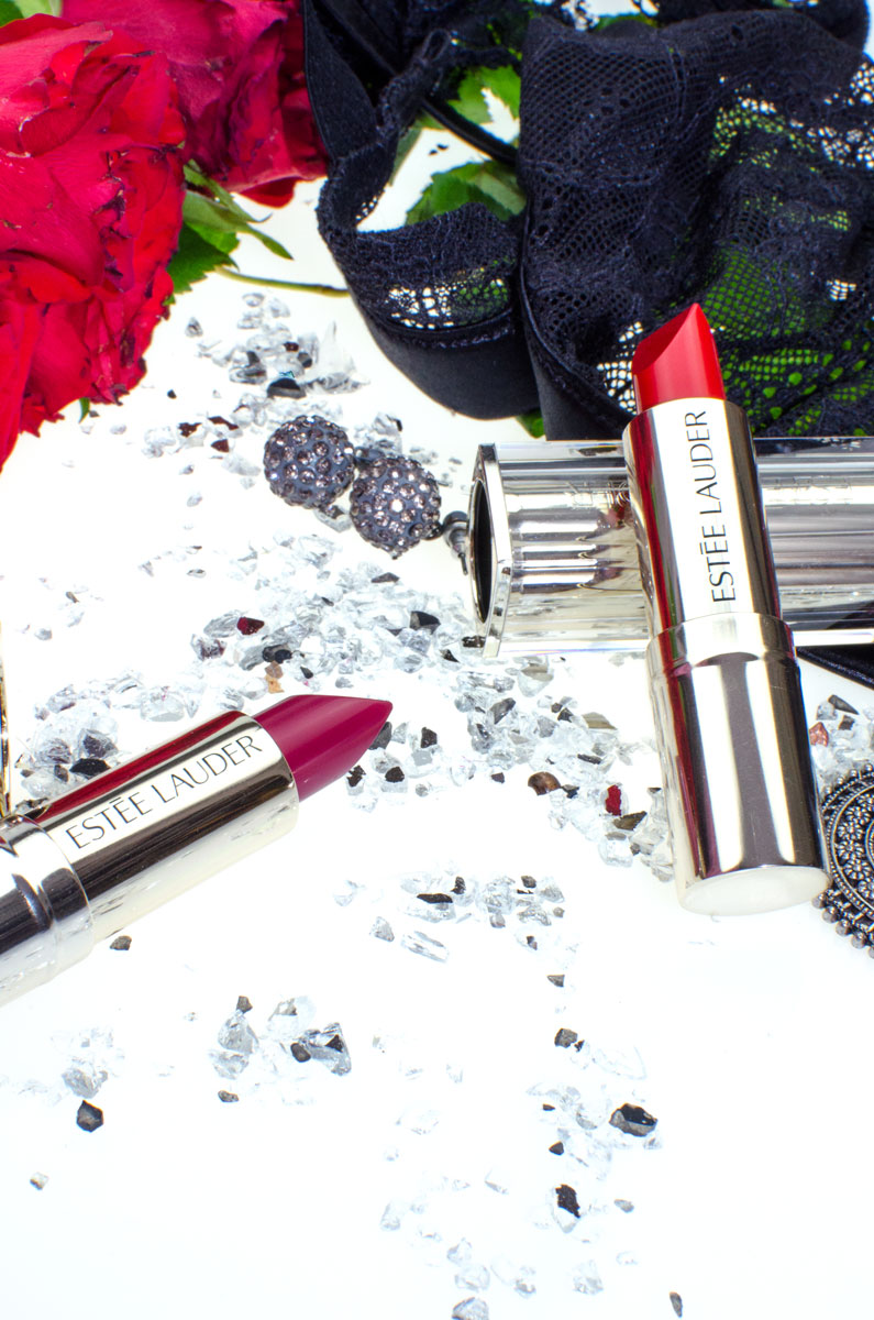 Estée Lauder Pure Color Love Lipsticks | Bar Red | Juiced Up