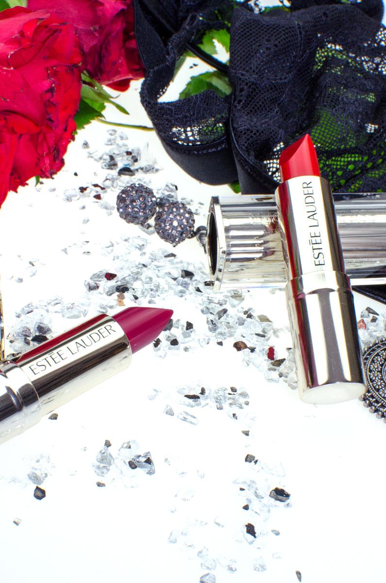 Estée Lauder Pure Color Love Lipsticks | Bar Red | Juiced Up