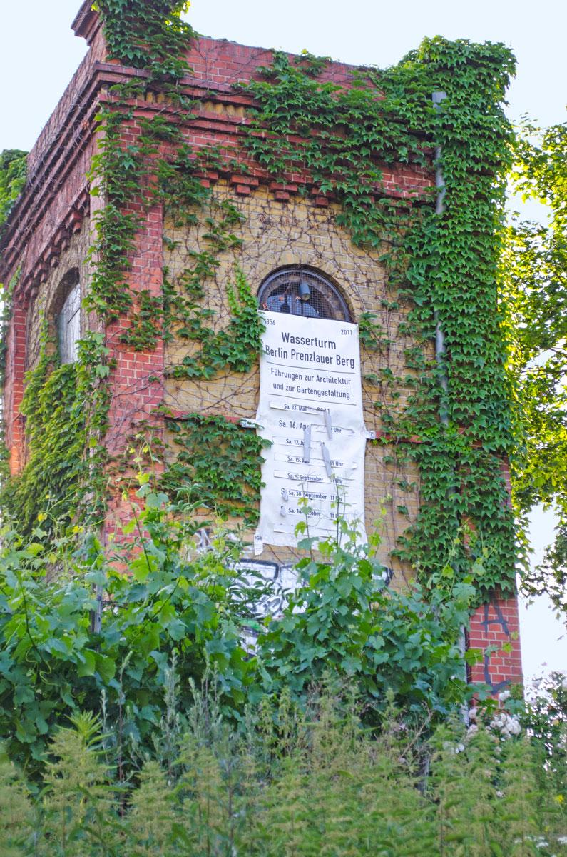 Wohnungssuche in der Hauptstadt Berlin | Tipps & Infos Wohnprojekt | Alter Wasserturm Prenzlauer Berg