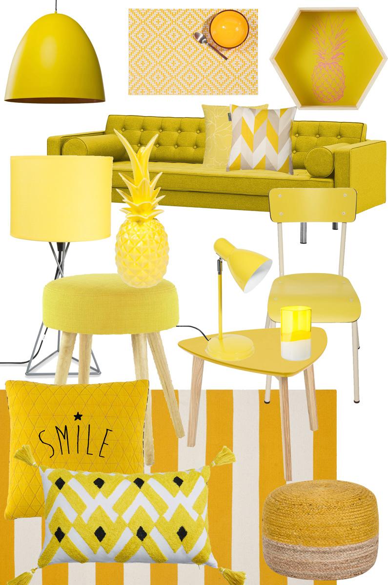 Dekotrend Gelb | All Yellow Homedecor