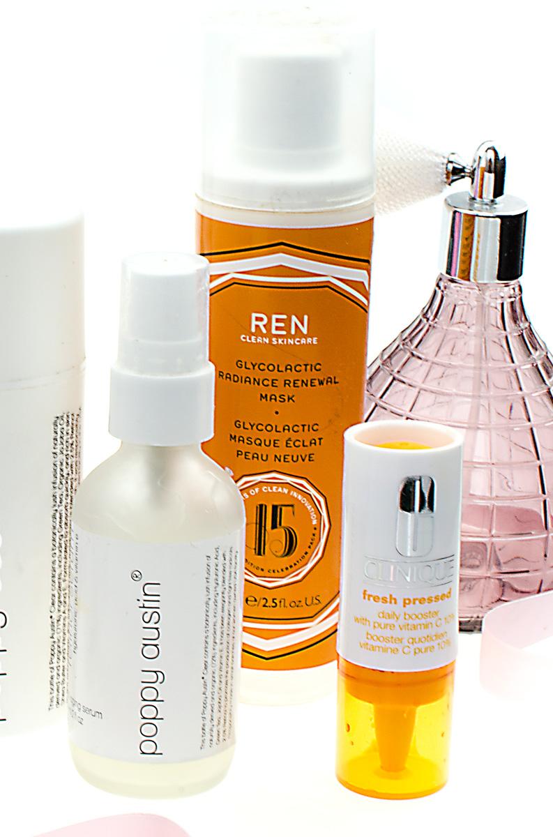 Gewinnspiel gestalten | AHA, BHA, Retinol, Vitamin C | Skinbooster