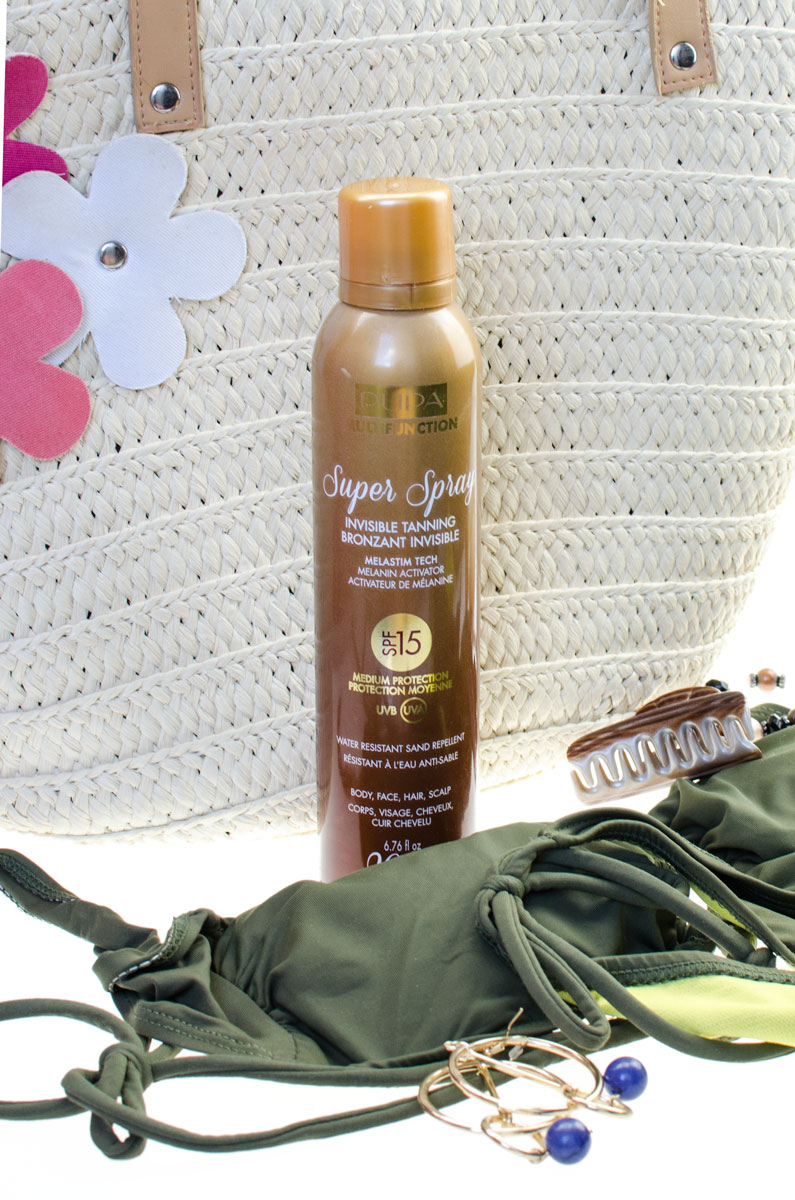 PUPA Invisibile Tanning Super Spray SPF 15 200ml.