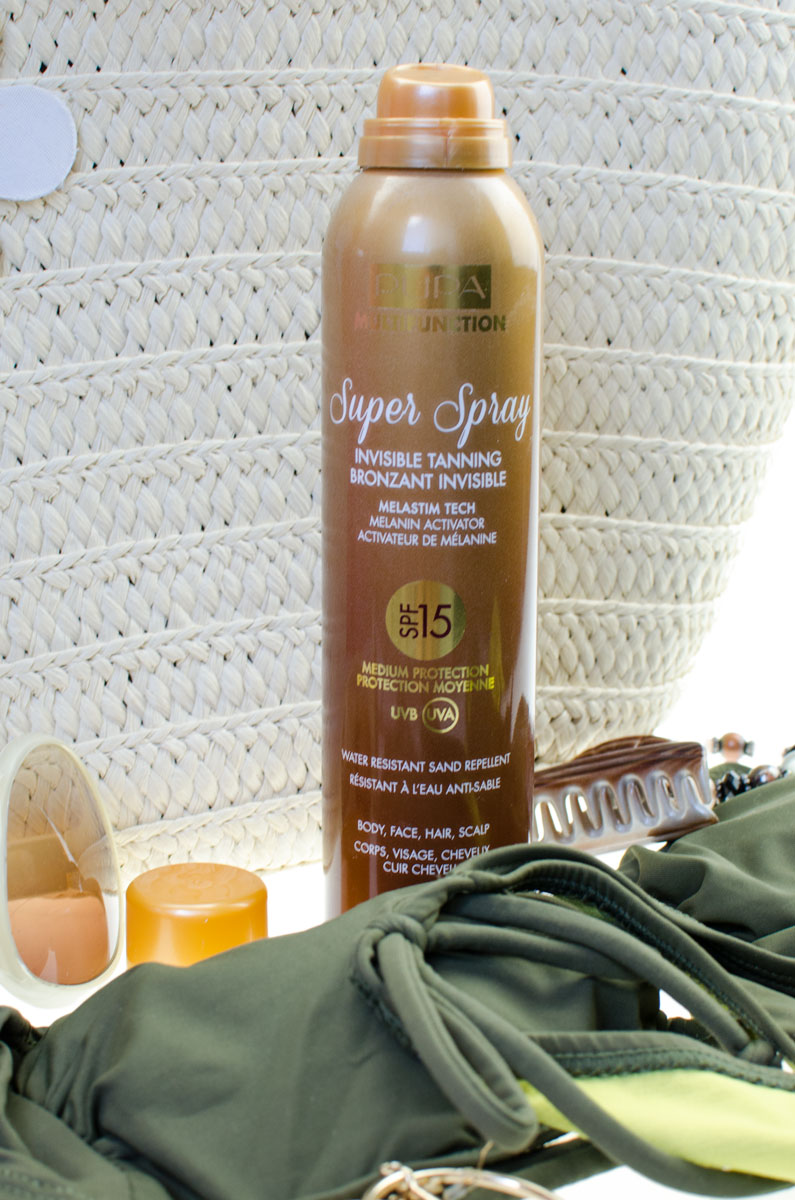 PUPA Super Spray SPF 15 Invisible Tanning