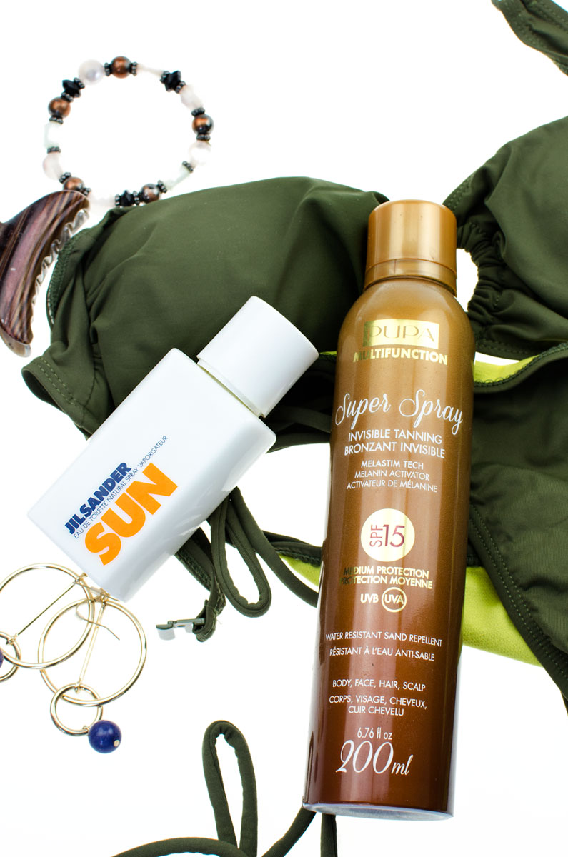 PUPA Invisibile Tanning Super Spray SPF 15 200ml. & Jil Sander Sun