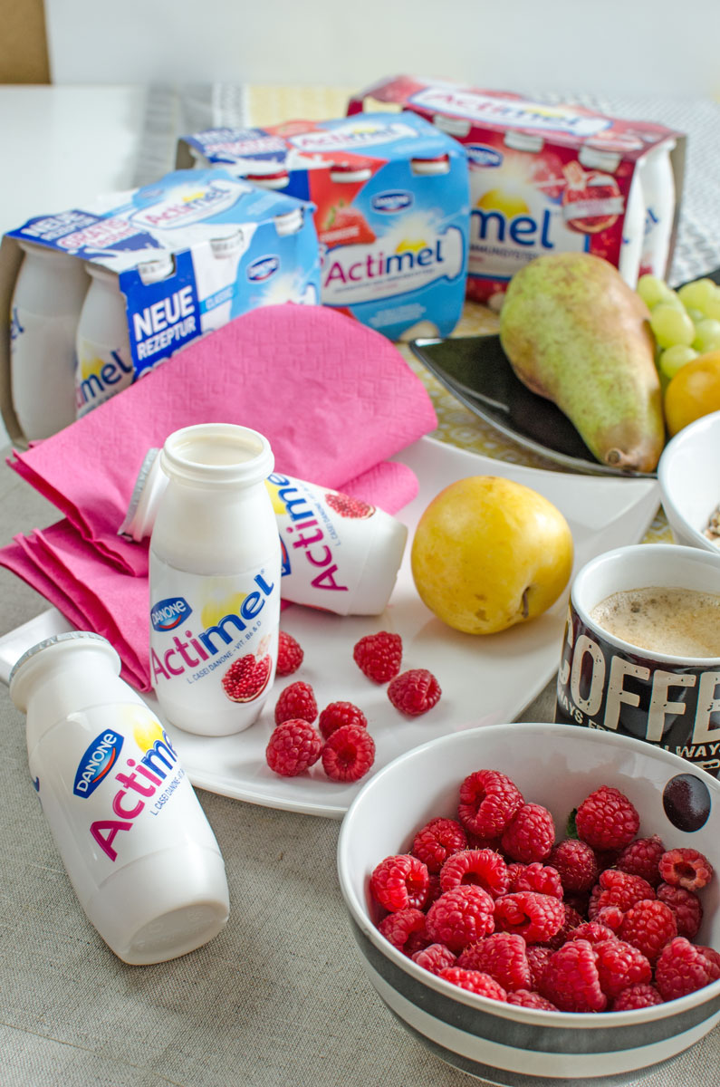 Mein #StayStrong Moment mit Danone Actimel