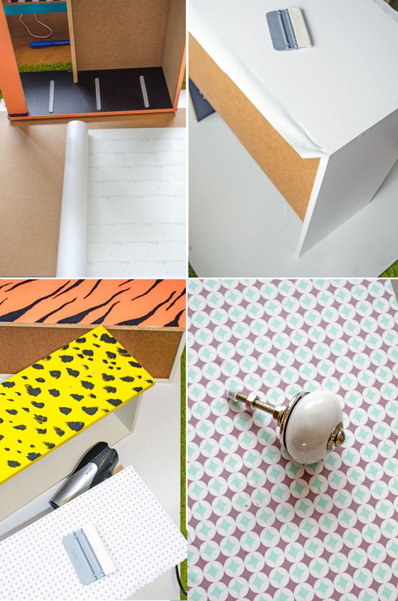 [unbezahlte werbung]DIY Kommode im Vintage Style mit Folierung