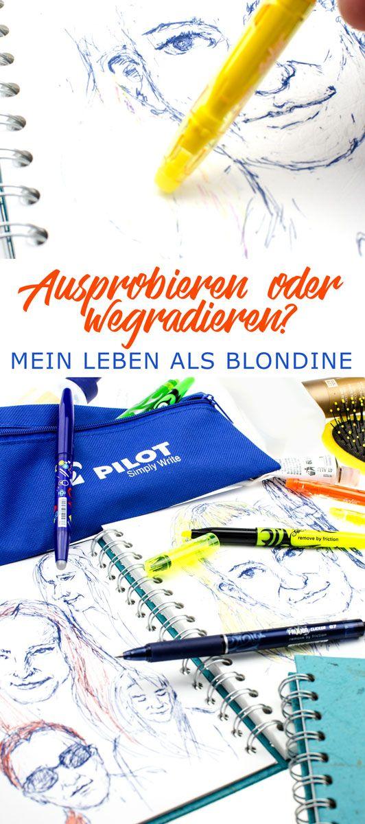 [anzeige]Mein Leben als Blondine | Eine Story mit Frixion Colors