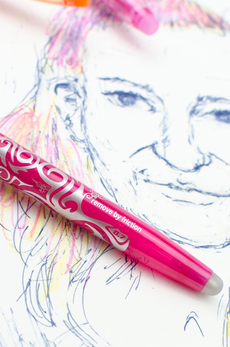 Wegradieren oder Ausprobieren mit FriXion Stiften von PILOT PEN