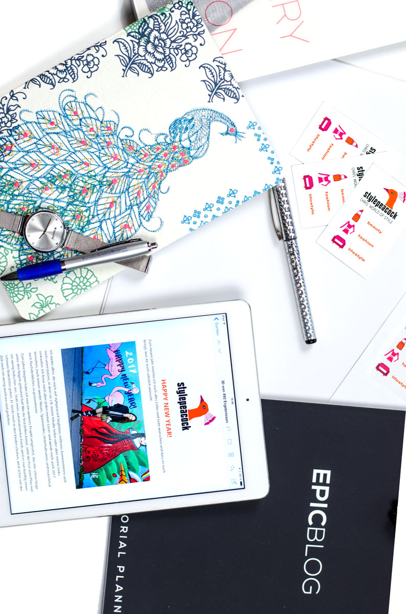 Stylepeacock TOP 5 2017 / Richtige Kennzeichnung von Beiträgen, Blog Posts und Instagram