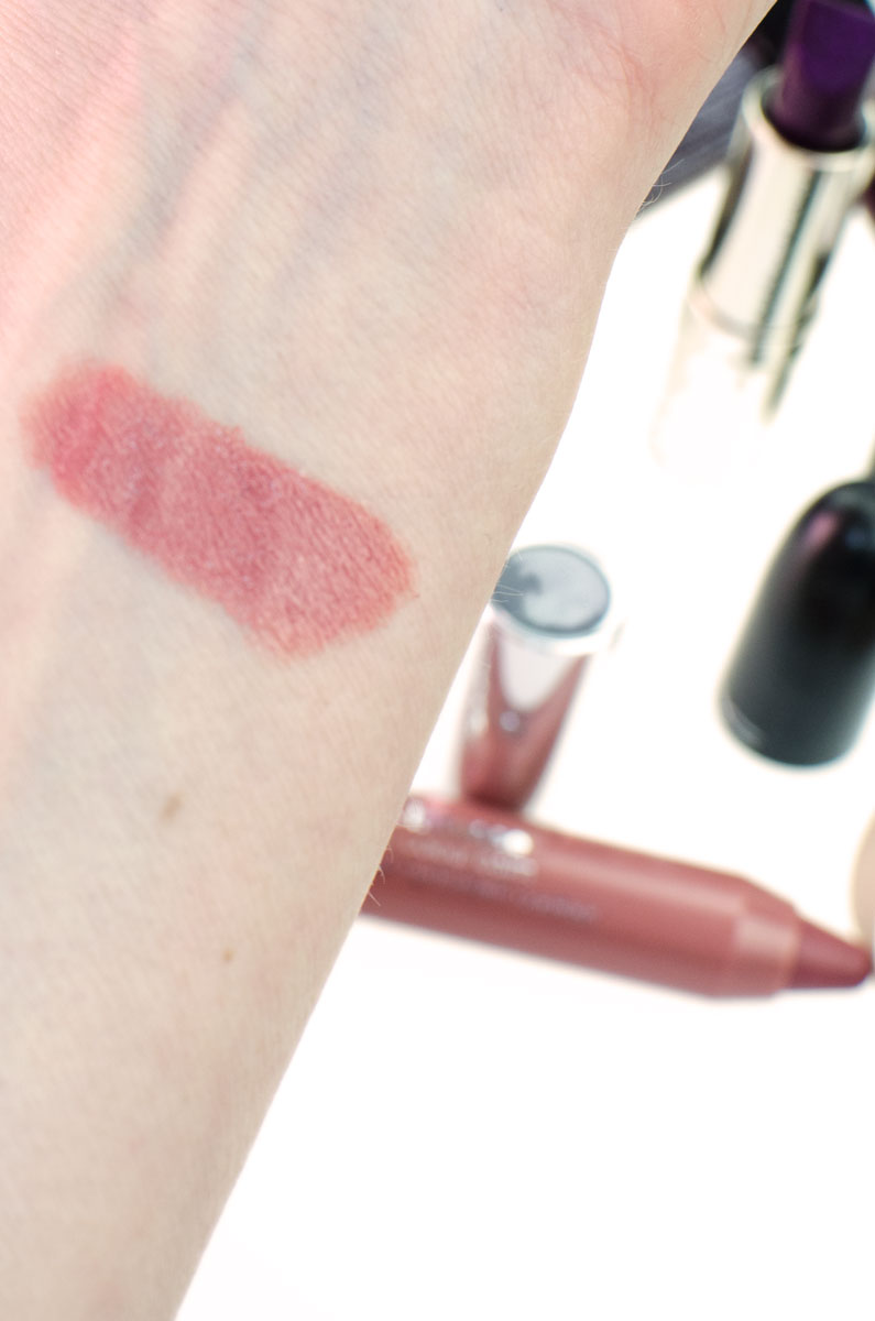 BLOGPARADE Meine Lippenstifte für den Herbst | Clinique Chubby Curviest Caramel Swatch