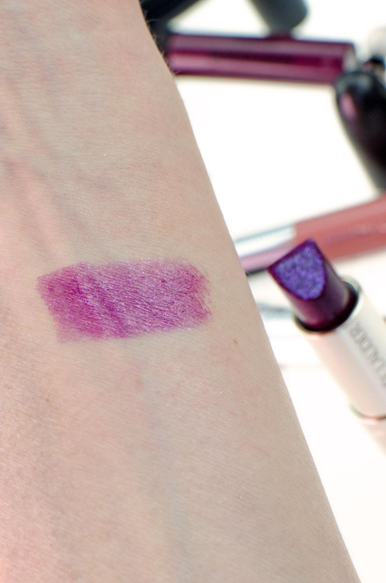 BLOGPARADE Meine Lippenstifte für den Herbst | Estée Lauder Nova Noir Swatch