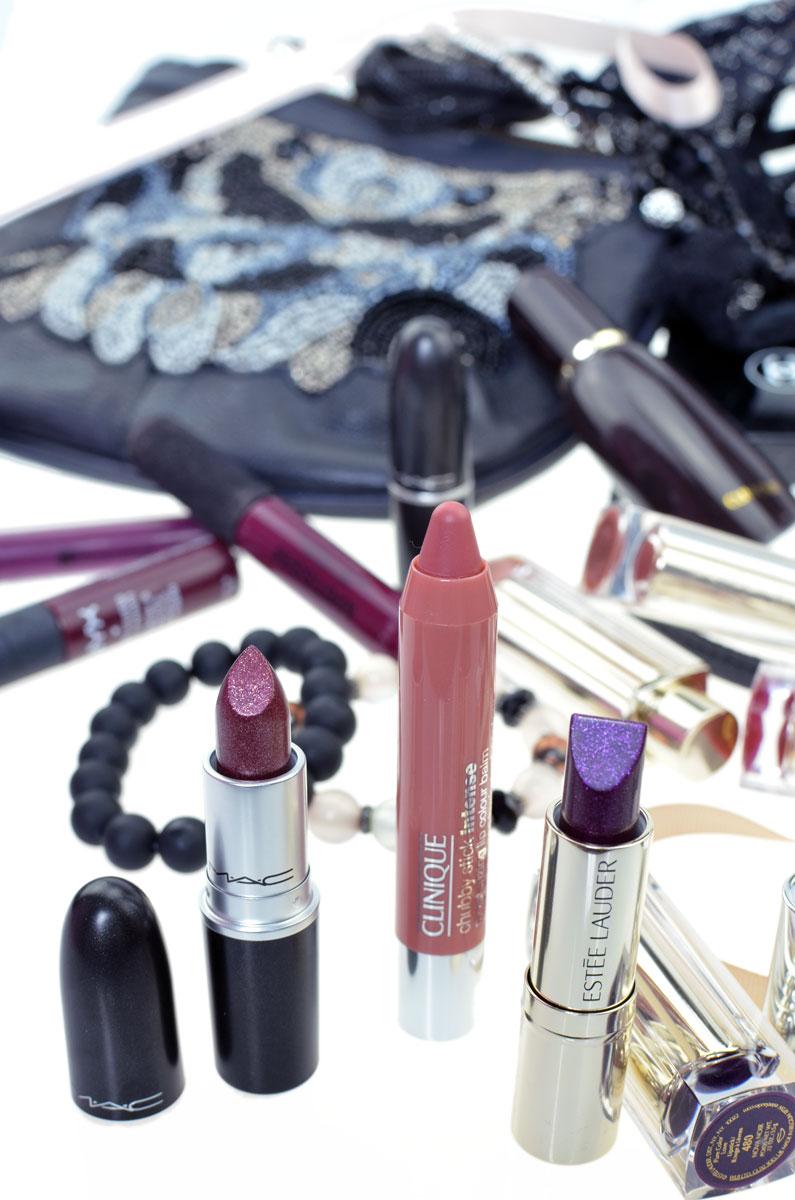 BLOGPARADE Meine Lippenstifte für den Herbst | Clinique Chubby Curviest Caramel | Estée Lauder Nova Noir | Mac Hades Fire