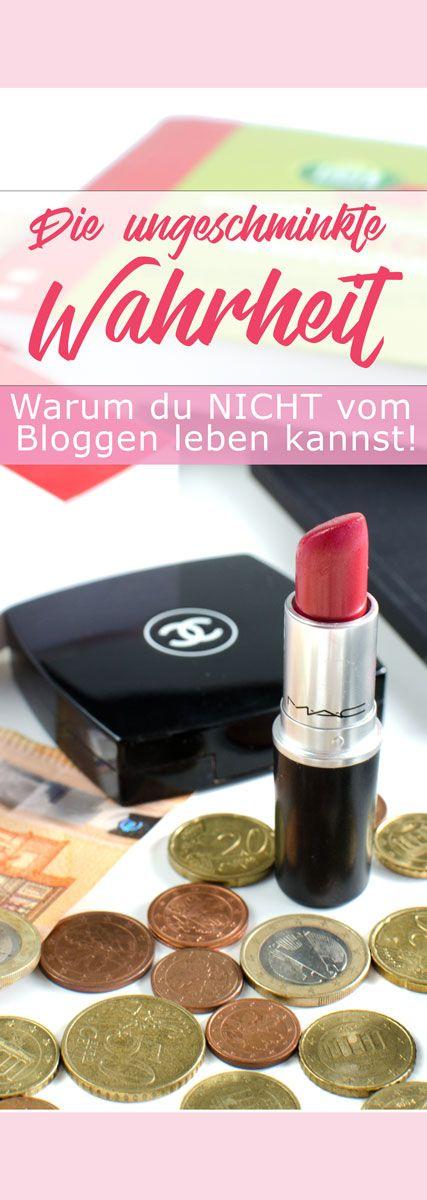 Bloggertipps | Warum du nicht vom Bloggen leben kannst | Die ungeschminkte Wahrheit