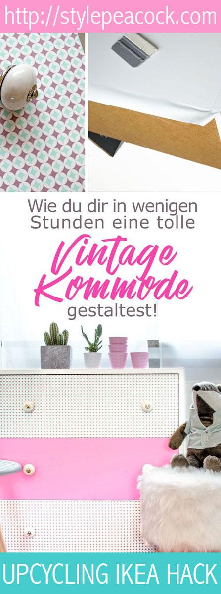 IKEA HACK DIY Vintage Kommode