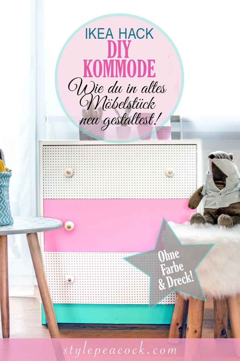 [unbezahlte werbung]IKEA HACK DIY Vintage Kommode