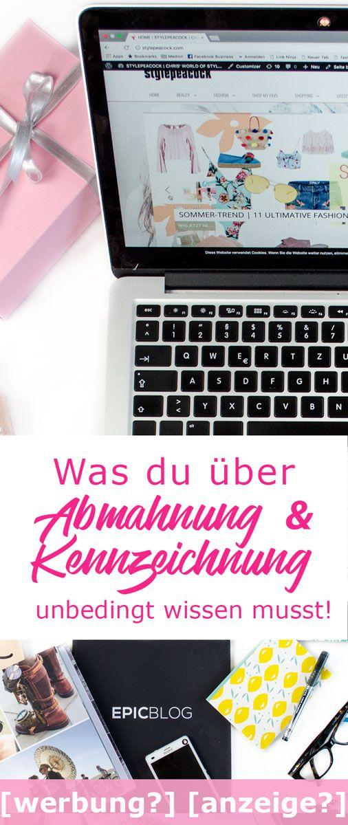 Kennzeichnung von Blogposts als Werbung | Was du wissen musst, um einer Abmahnung zu entgehen