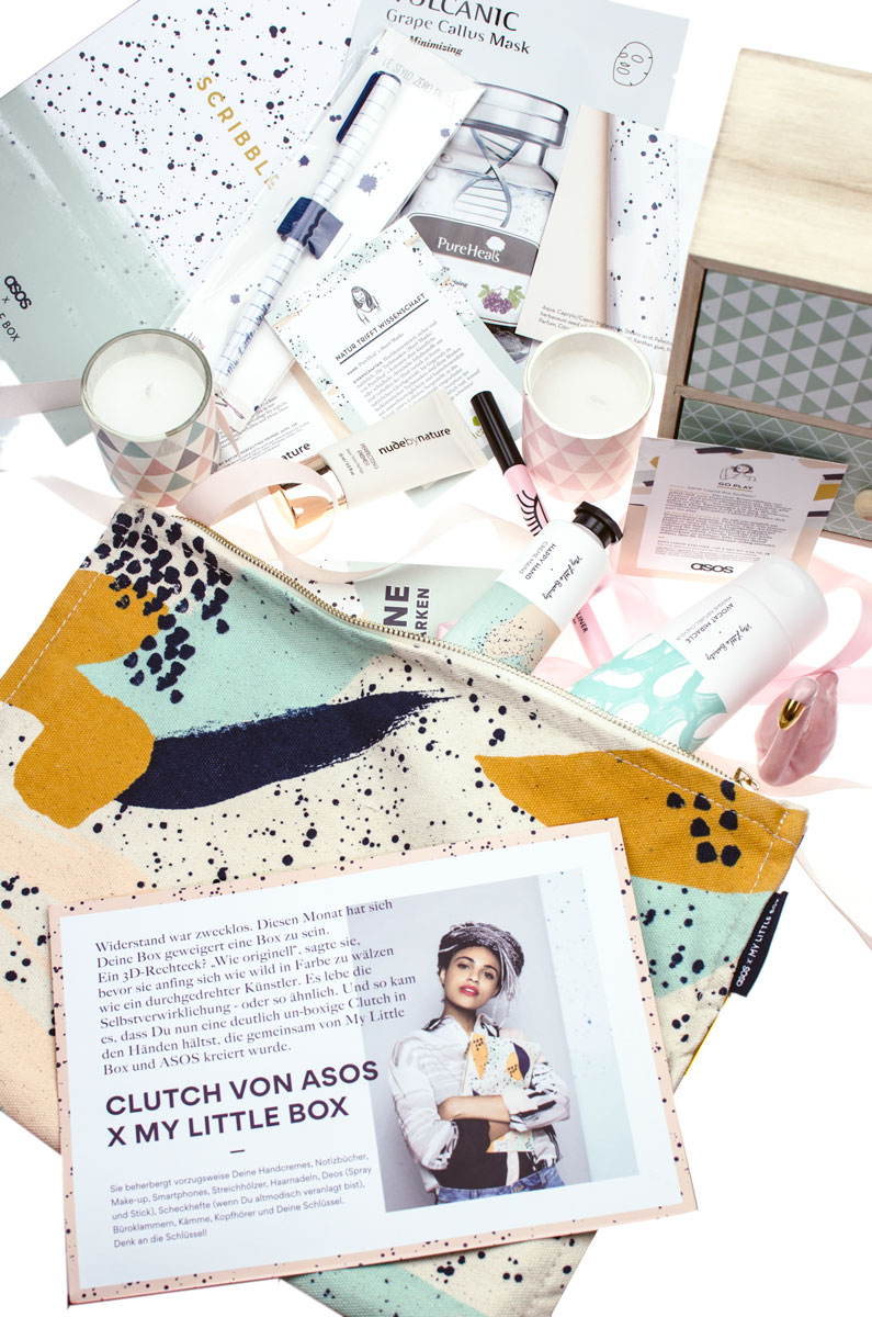 My Little Box Oktober 2017 asos Edition Scribbles Boolk & Stylo