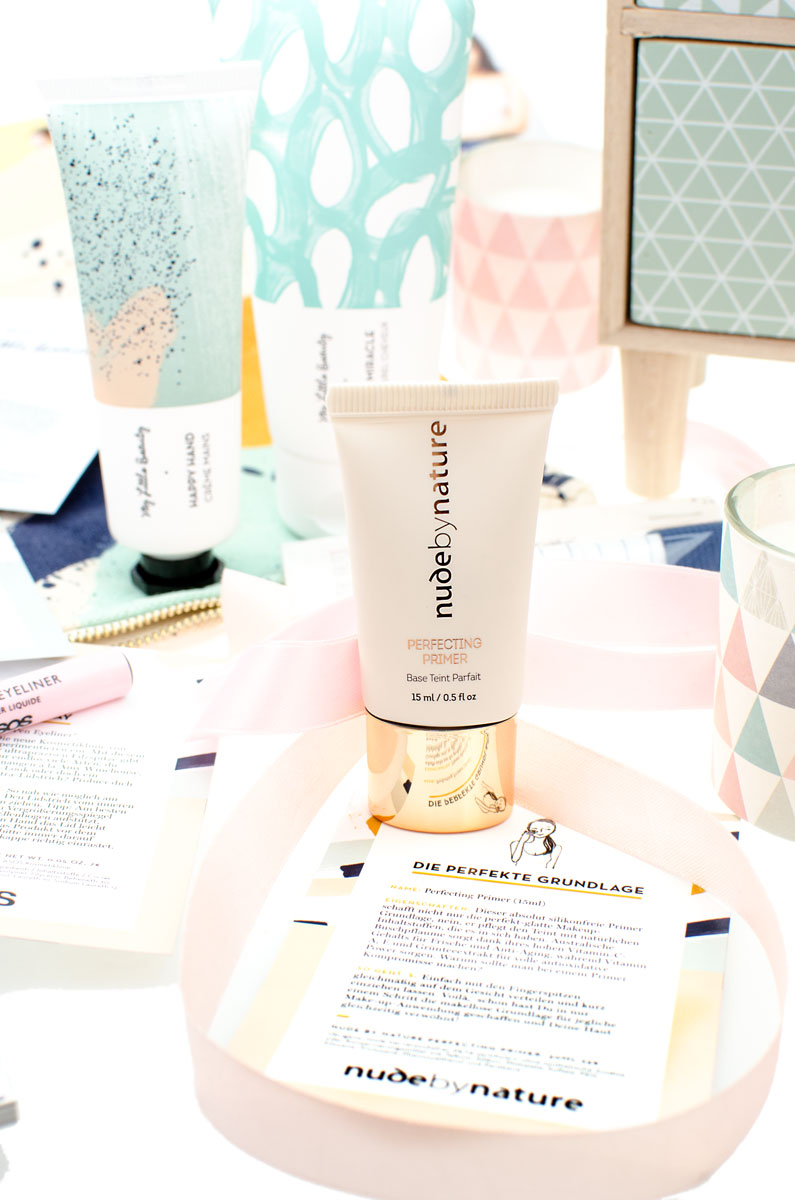 My Little Box Oktober 2017 asos Edition nude by nature Perfecting Primer