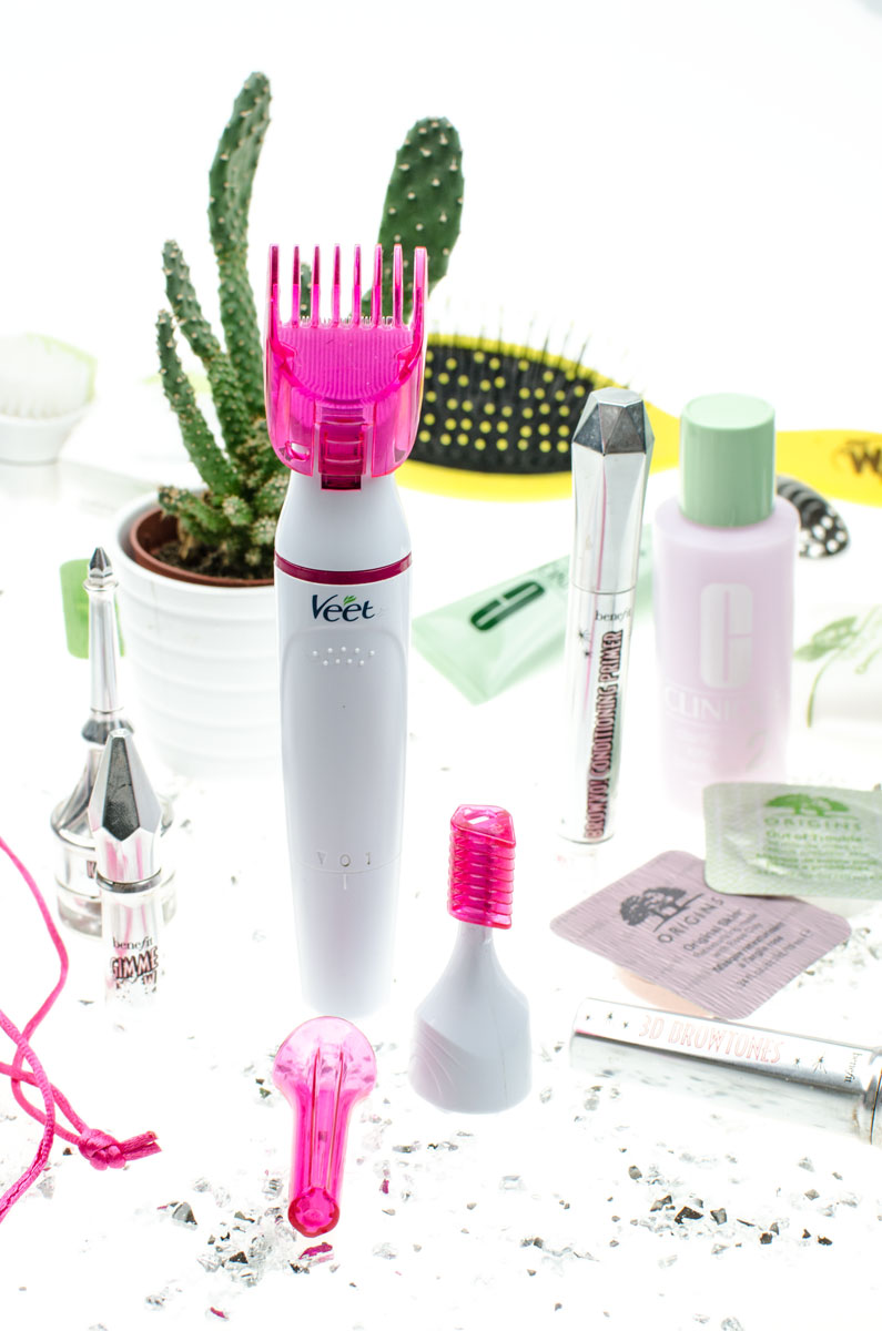 Blogparade/ Meine 3 liebsten Beautytools | Veet Sensitive Precision Beauty Styler