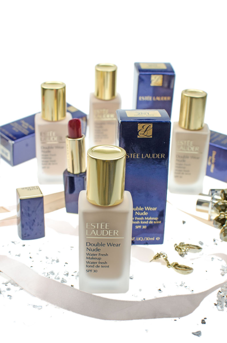 Estée Lauder Double Wear Nude Water Fresh Makeup SPF 30 | Lighweight Foundation