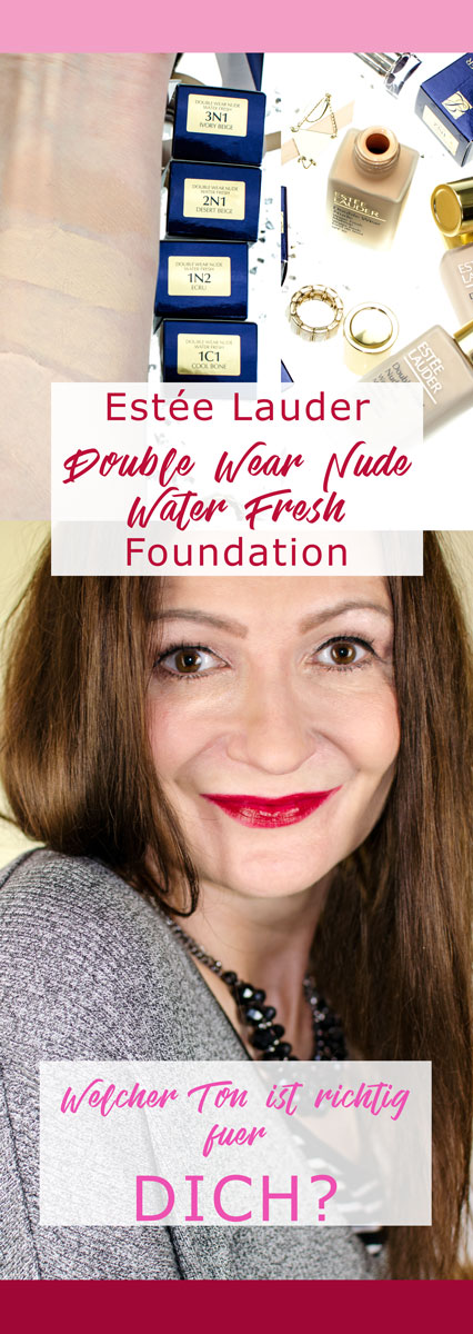 [beinhaltet werbung]Estée Lauder Double Wear Nude Water Fresh Makeup SPF 30 | Lighweight Foundation